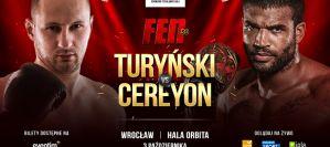 Michał Turyński vs  Cyril Cereyon ostatnim pojedynkiem dodanym do karty walk FEN 30