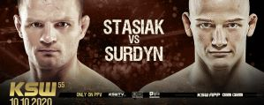 Damian Stasiak i Patryk Surdyn zmierzą się na KSW 55