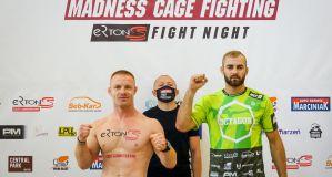 MCF 6 ''Ertons Fight Night'': Adrian Kurek i Adrian Żak w limitach! Wyniki ważenia zawodników! Video