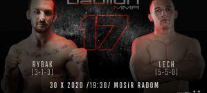Rybak vs Lech - zawodowe starcie utytułowanych amatorów na Babilon MMA 17