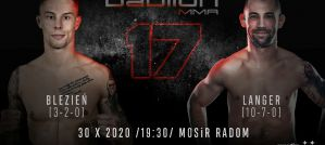 Krystian Blezień vs  Alan Langer na Babilon MMA 17