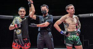ONE Championship 116 Reign of Dynasties: Sam-A Gaiyanghadao zdobywa drugi pas Muay Thai! Wyniki & Video