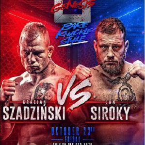 Genesis: Gracjan Szadziński vs Ján Široký na gołe pięści!