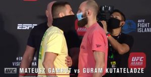 UFC Fight Island 6: Mateusz Gamrot i Guram Kutateladze w identycznym limiecie! Video