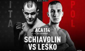 Bartosz Leśko zadebiutuje w nowej organizacji na ACA 114
