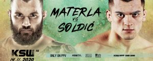 Michał Materla vs Roberto Soldić w walce wieczoru gali KSW 56