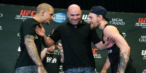 Dana White o starciu McGregor vs Poirier: Ktokolwiek wygra walkę, prawdopodobnie będzie pretendentem do tytułu w następnej walce!