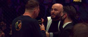 Gigantyczna awantura na gali MMA w Moskwie! Video