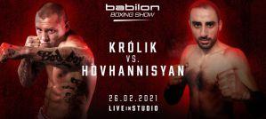 Michał Królik wraca na ring na Babilon Boxing Show!