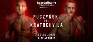 Bokserski debiut mistrza Europy w kickboxingu na Babilon Boxing Show