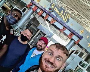 Team Błachowicz wylądował w Las Vegas przed UFC 259