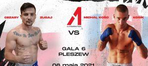 A1 Pleszew: Cezary Zugaj Jr. i Michal ''Koso'' Kosik kolejną parą turnieju Lethwei!