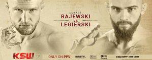 Łukasz Rajewski skrzyżuje rękawice z Mateuszem Legierskim na KSW 59