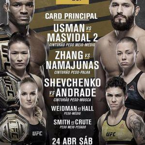 UFC 261 Usman vs Masvidal 2: Las Vegas (USA), 24/04/2021