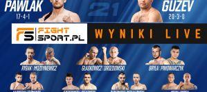 Babilon MMA 21 Pawlak vs Guzev: wyniki na żywo!