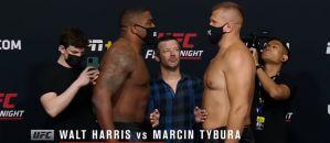 UFC Fight Night 189: Marcin Tybura lżejszy od Walta Harrisa przed walką! Video