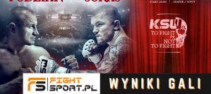 KSW 61: Mariusz Pudzianowski w walce wieczoru rozbił Łukasza Jurkowskiego! Wyniki!