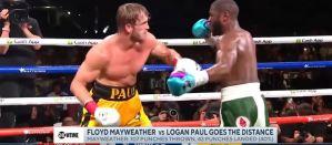 Nierozstrzygnięta walka Floyda Mayweathera z youtuberem Paulem Loganem! Video