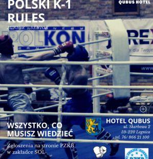 XIV Mistrzostwa Polski K-1 Rules: Martyna Kierczyńska i Damian Piskorz najlepszymi zawodnikami! Wyniki