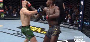 UFC 263: Israel Adesanya obronił pas mistrza! Brandon Moreno dusi Figueiredo! Wyniki & Video
