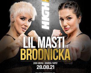 Ewa Brodnicka, Mistrzyni Świata w boksie, rywalką Lil Masti na High League 1!