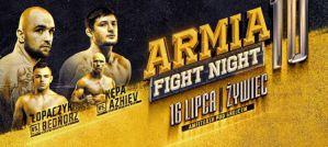 AFN 10: Tymoteusz Łopaczyk i Mansur Azhiev nowymi mistrzami Armia Fight