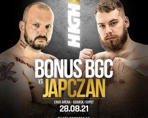 """Piotr """"Bonus BGC"""" Witczak zmierzy się z """"Japczanem"""" w oktagonie High League!"""