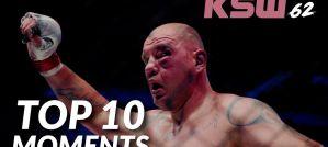 KSW 62: TOP 10 Moments! Video!