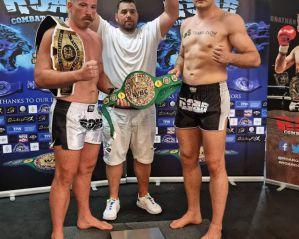 Mateusz Duczmal zdobywa pas WBC Muay Thai w Anglii!