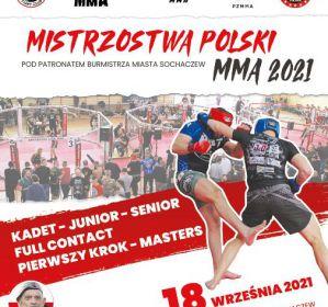 Mistrzostwa Polski MMA 2021 w Sochaczewie 18 września!