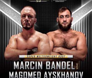 """Marcin """"Bomba"""" Bandel zawalczy na Brave CF 54! Jego rywalem Magomed Ayskhanov!"""