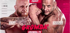 Dwumetrowy DZIDZIUŚ i przystojny drań w walce na gołe pięści na gali GROMDA 6!