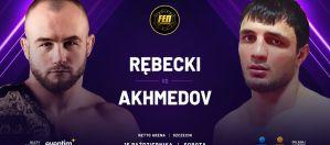 Aigun Akhmedov będzie rywalem Mateusza Rębeckiego na FEN 36 w Szczecinie