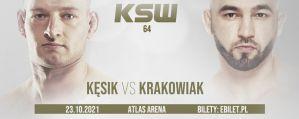Marcin Krakowiak zmierzy się z Cezarym Kęsikiem na KSW 64