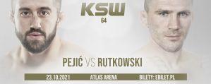 Filip Pejić rywalem Daniela Rutkowskiego na KSW 64! Karta walk kompletna!