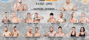Pełna karta walk gali Babilon MMA 25 w Łomży!