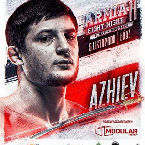 Mansur Azhiev będzie bronić tytułu mistrzowskiego na AFN 11!