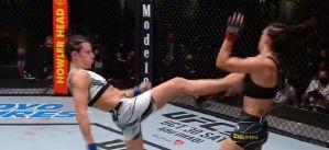 UFC Fight Night 194: Marina Rodriguez wypunktowała Mackenzie Dern! Wyniki & Video