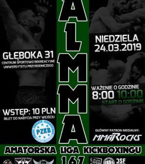 ALMMA 167 – Bull Terror Challenge 24 marca w Lublinie