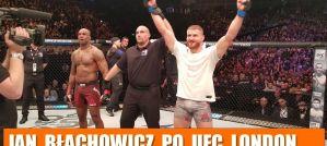 Jan Błachowicz po zwycięstwie z Jimi Manuwą na UFC London! Wywiad!